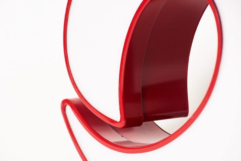 Insegne pubblicitarie Mattioli lettera alluminio scatolato con profilo dettaglio