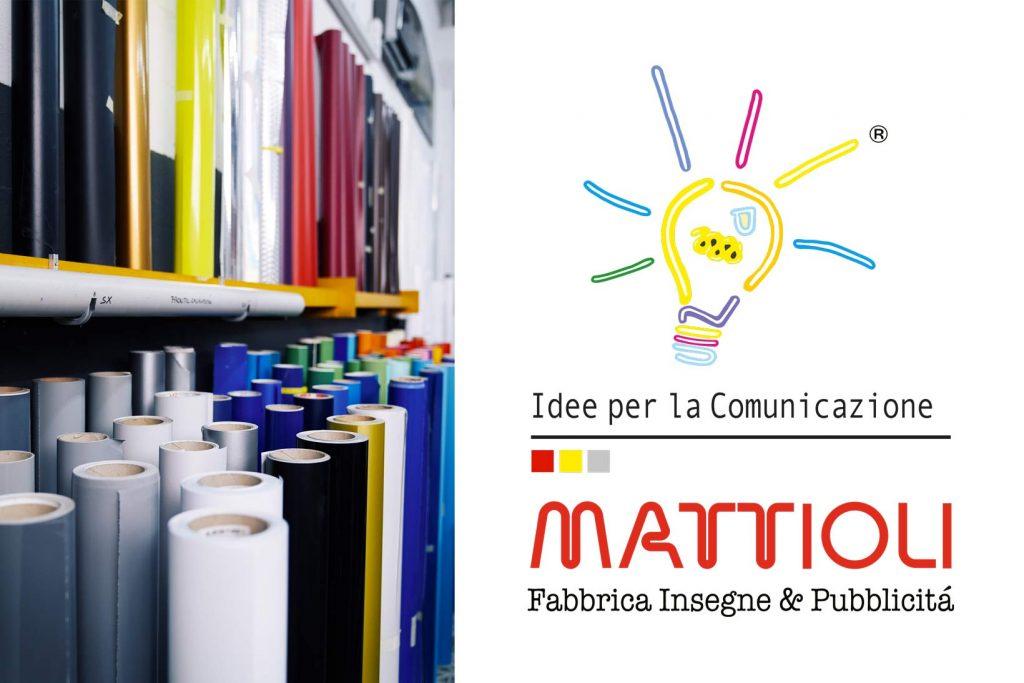 storia pubblicità Mattioli insegne